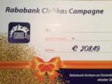 Resultaat deelname Rabobank Clubkas Campagne
