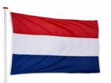 Duiven herdacht de bevrijding van 75 jaar geleden op 9 april j.l. door te vlaggen.